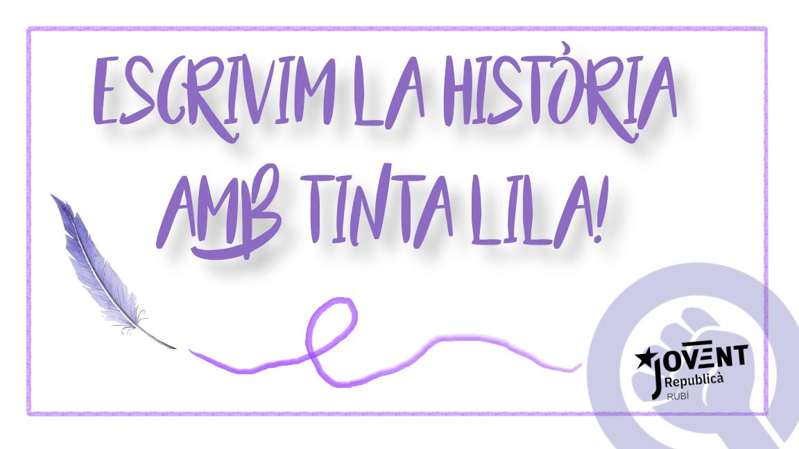 Escribim la història amb tinta lila! Cada dia és 8 de març
