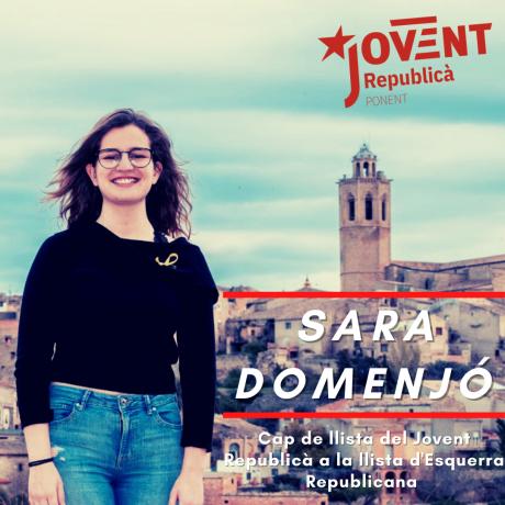 La cap de llista del Jovent Republicà a Lleida