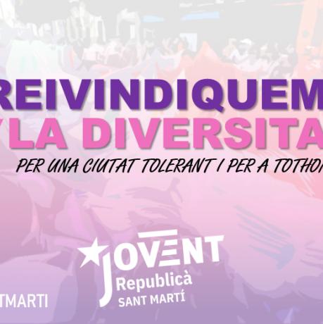 Per una ciutat tolerant i per a tothom