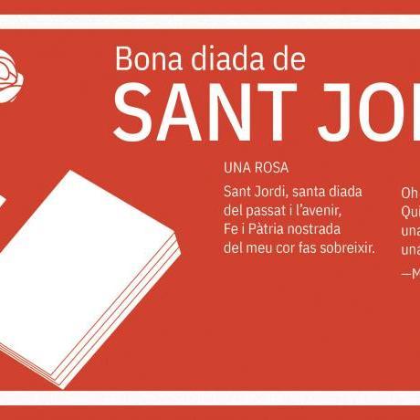 Per Sant Jordi: fomentem la cultura en català i estimem des del feminisme!