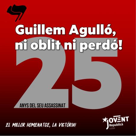 25è aniversari de l'assassinat de Guillem Agulló