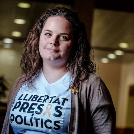 Rut Ribas és la primera diputada del Jovent Republicà que participarà a la Mesa del Parlament