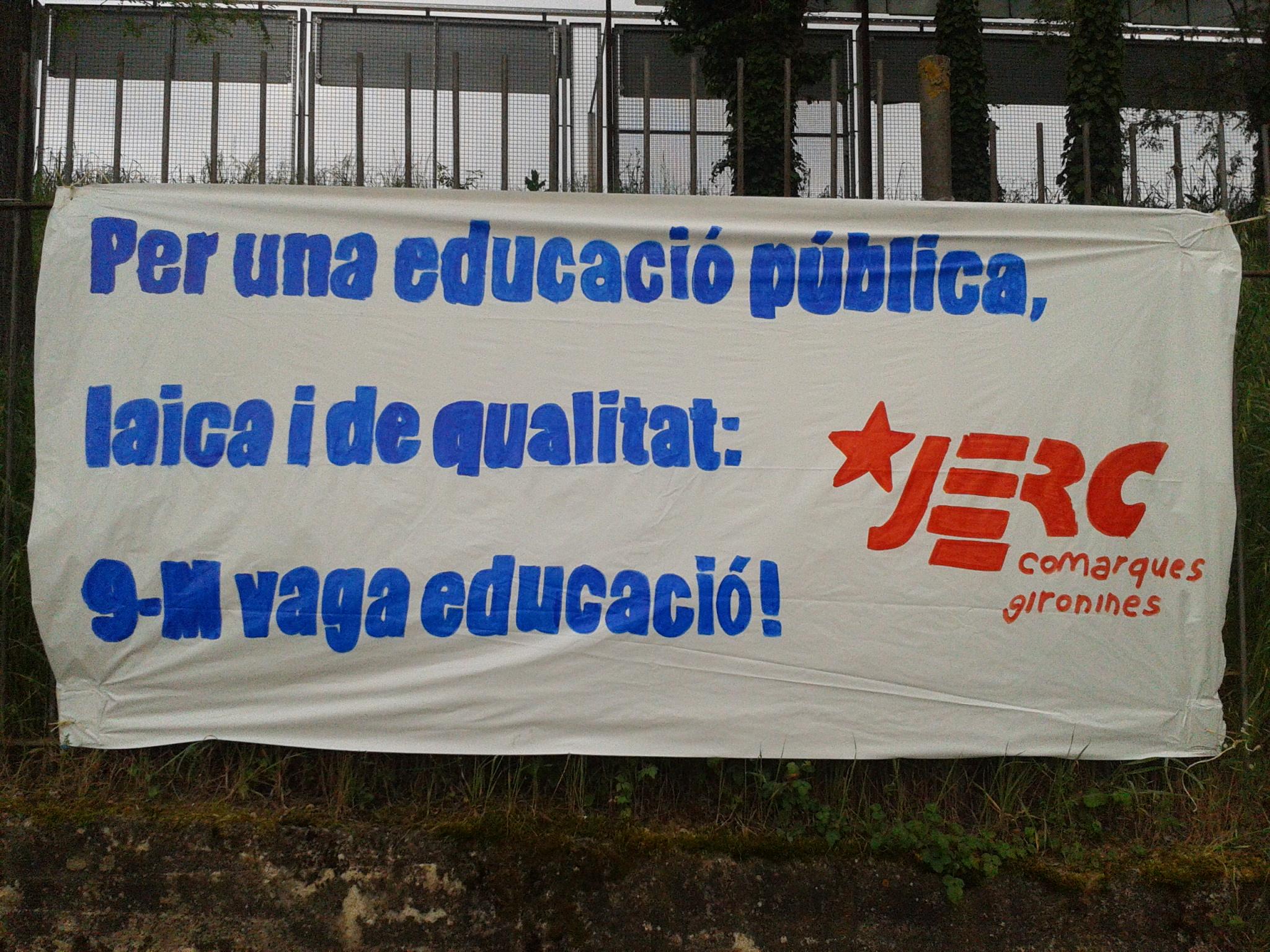 9M vaga educació