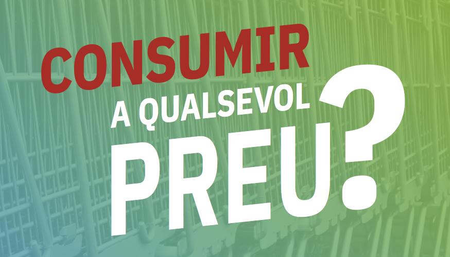 Ser conscient de les conseqüències de les teves compres és el primer pas per acabar amb el consumisme de forma col·lectiva