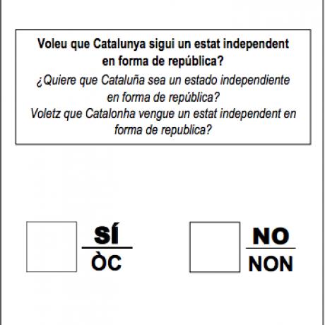 1 d'octubre Referèndum d'Autodeterminació de Catalunya