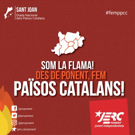 Des de Ponent, fem Països Catalans!
