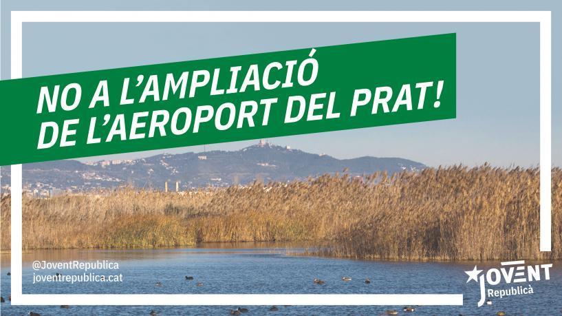 Per revertir l'emergència climàtica i les desigualtats socials: no a l'ampliació de l'aeroport!