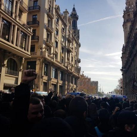 les forces de l'Estat segueixen sense donar resposta a les demandes d'autodeterminació que el poble de Catalunya