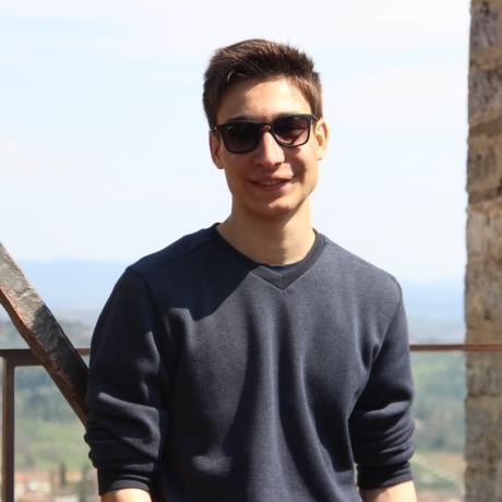 Marcel Busquets, militant de les Joventuts d'Esquerra Republicana de Girona
