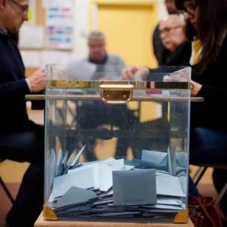 Urna de les eleccions