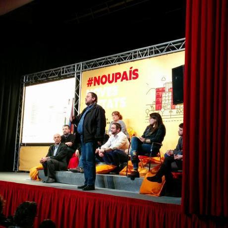 Oriol Junqueras a la cloenda de l'acte