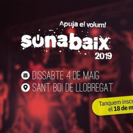 El SonaBaix 2019, el proper 4 de maig a Sant Boi