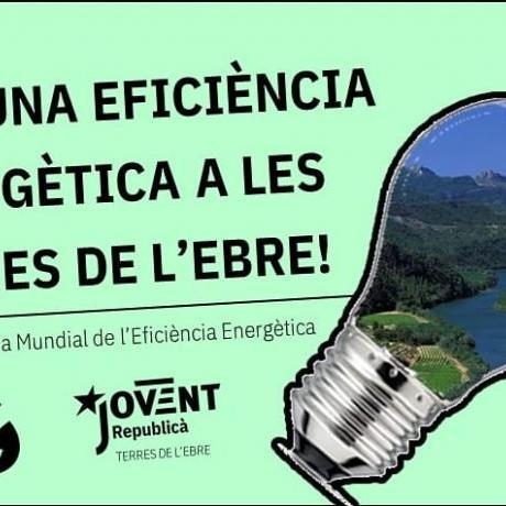 PER UNA EFICIÈNCIA ENERGÈTICA A LES TERRES DE L'EBRE!