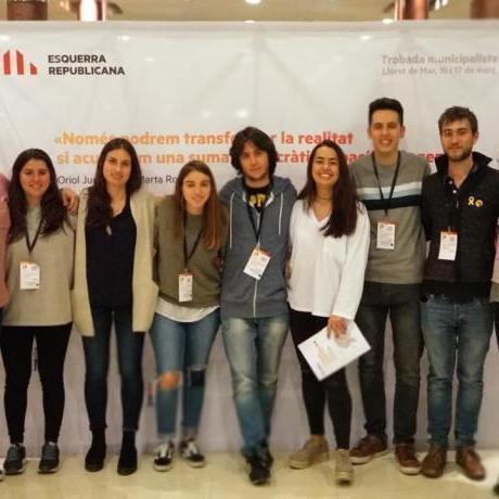 Les JERC del Baix Llobregat, presents a la trobada