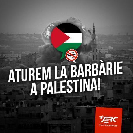 Aturem la barbàrie a Palestina