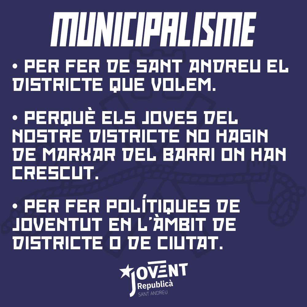 Milita pel municipalisme!