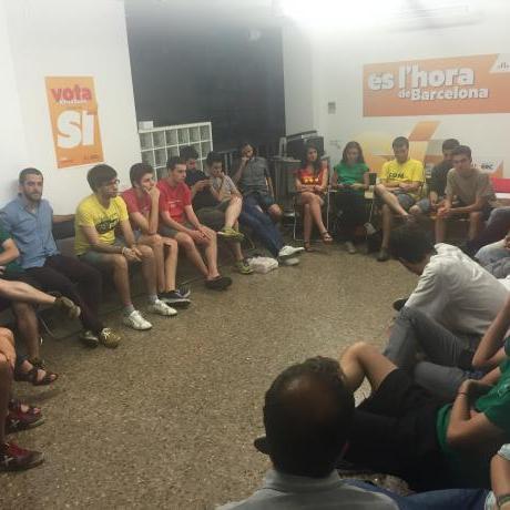 Assemblea extraordinària per decidir el posicionament de les JERC Barcelona
