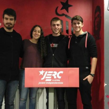 D'esquerra a Dreta: Roger Blazquez, Anna Barrull, Pol López i Ramon Gras