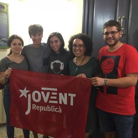 La nova permanent del Jovent Republicà de Caldes de Malavella