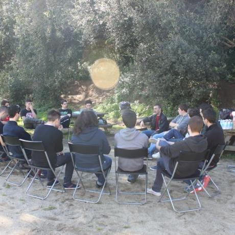 Col·loqui sobre participació ciutadana amb en Xavier Godàs