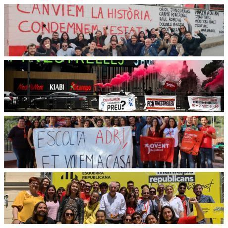 La militància del Jovent Republicà del Baix Llobregat, mobilitzada i preparada per a guanyar als ajuntaments!