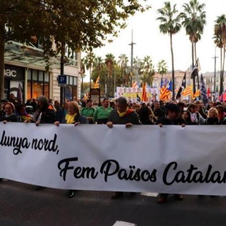 Volem viure plenament en català a tots els racons dels Països Catalans!