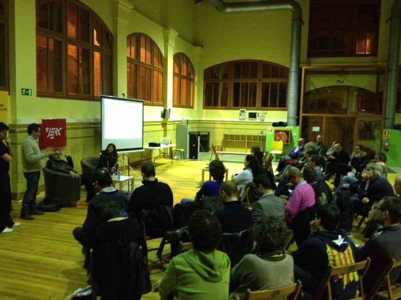 Imatge de l'acte de presentació de les JERC Celrà