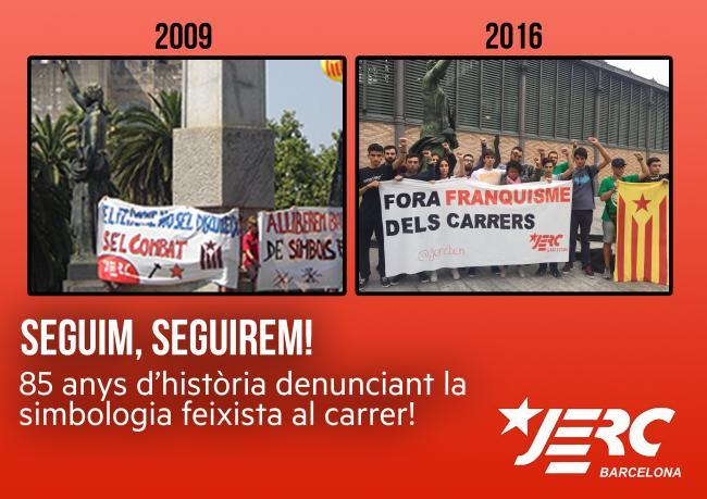 85 anys de lluita antifranquista