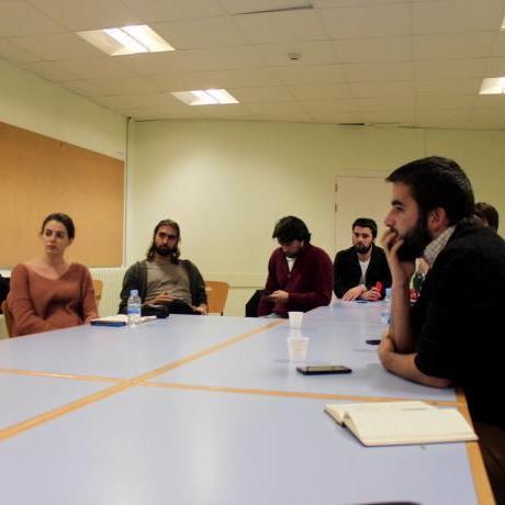 Moment durant l'Escola Regional de Formació de les JERC Barcelona