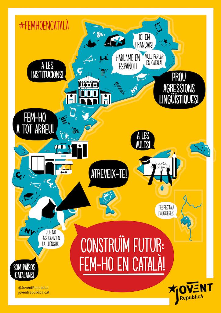 El català és la llengua pròpia, comunia i compartida dels Països Catalans, utilitzem-la i defensem-la!