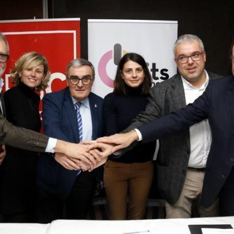 Incorporació d'Units per Avançar a l'equip govern del Partit dels Socialistes de Catalunya