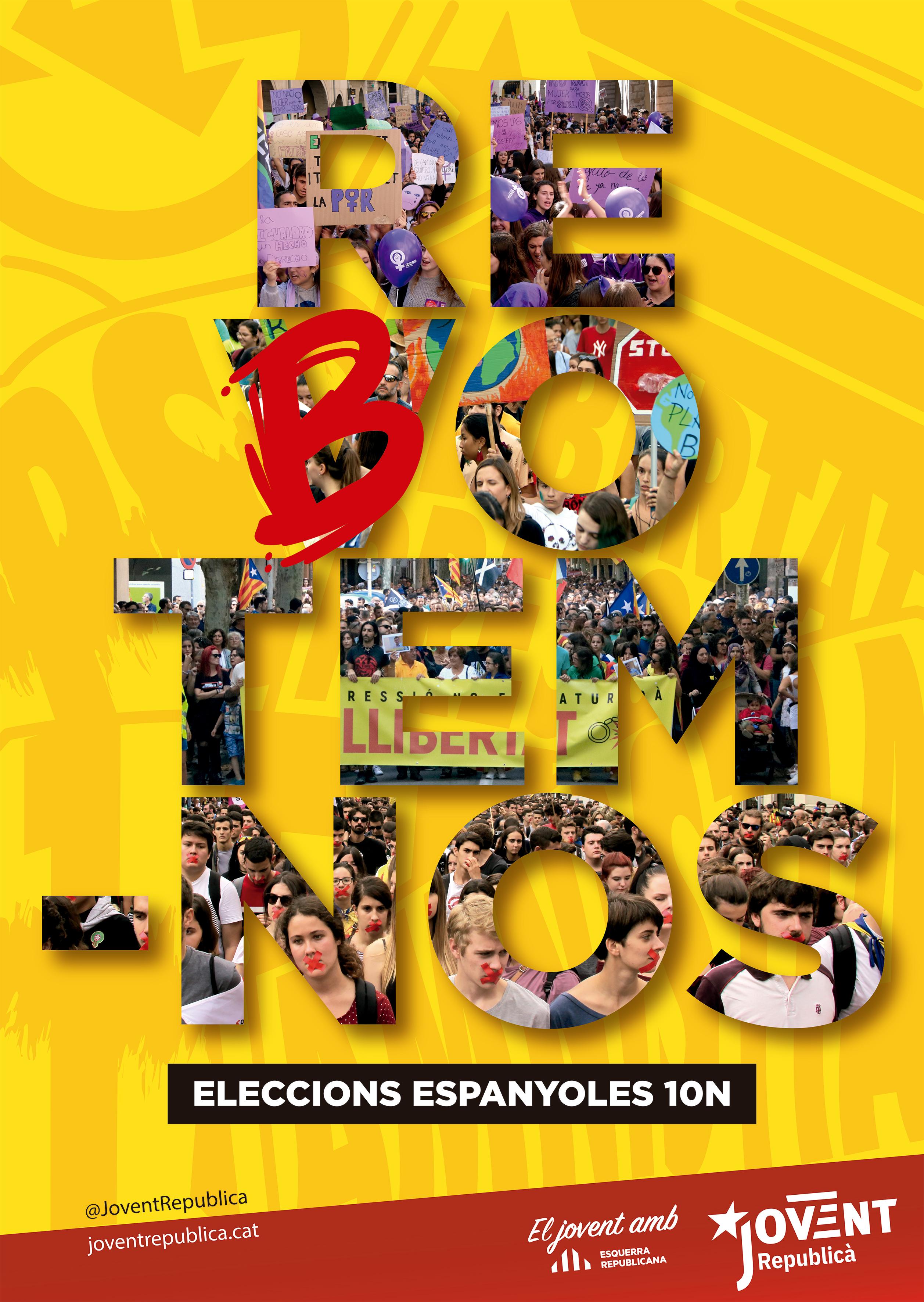 Eleccions 10N: Rebotem-nos!