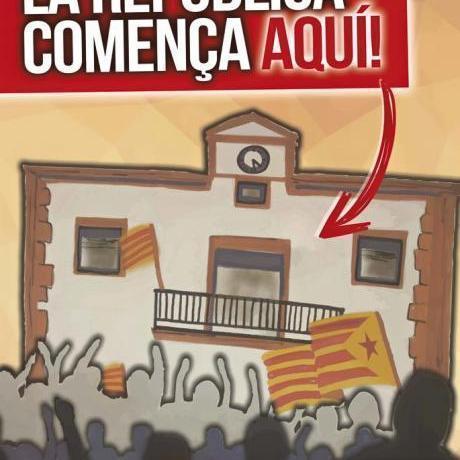 Cartell de la campanya de les eleccions municipals 2015