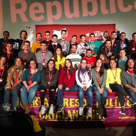 La militància del Jovent Republicà del Baix Llobregat present al 28è Congrés Nacional de les Joventuts d'Esquerra Republicana