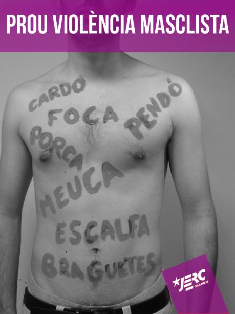 Combatem la violència de gènere cada dia!