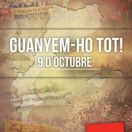 9 d'octubre: el jovent sortim al carrer, guanyem-ho TOT!