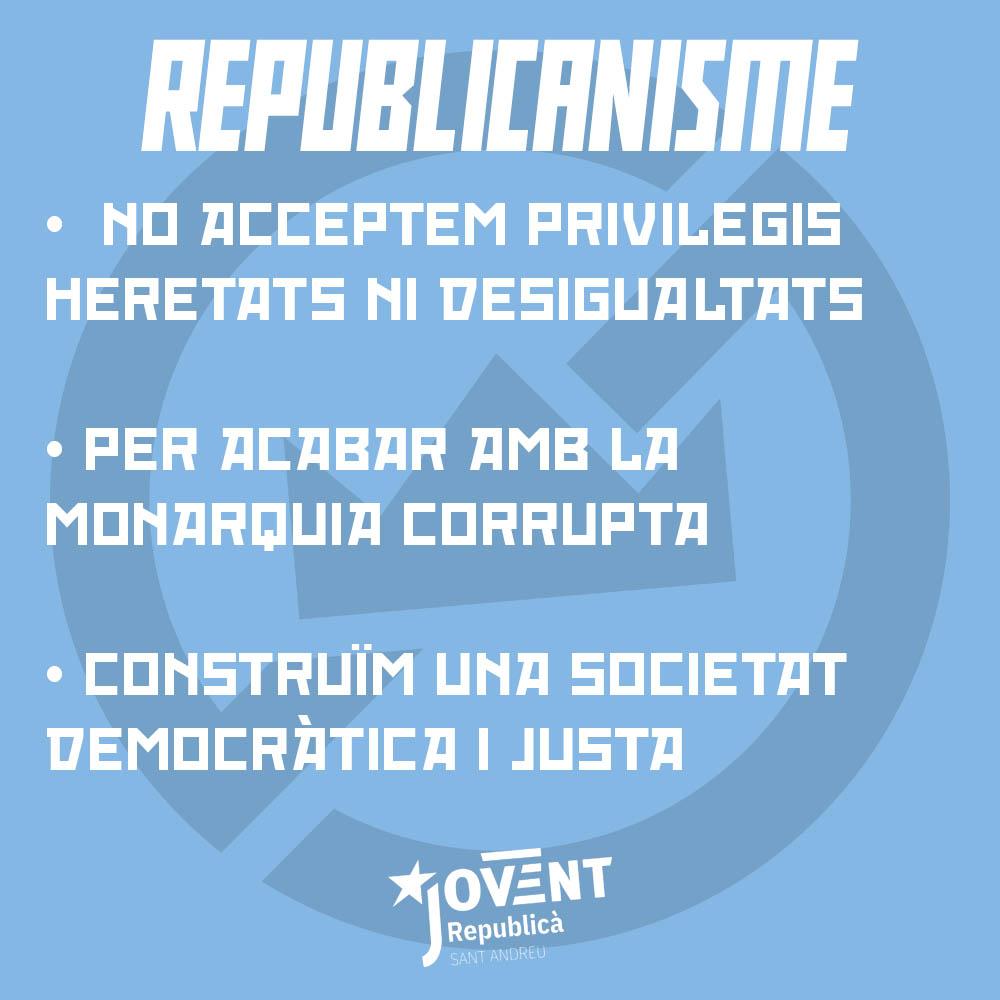 Milita pel republicanisme!