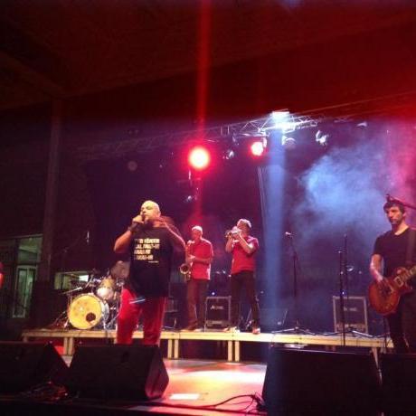 El grup de música Brams en el concert organitzat per les JERC Baix Llobregat