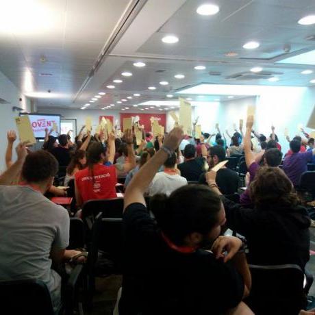 El Consell Nacional aprova una resolució en solidaritat amb el poble palestí