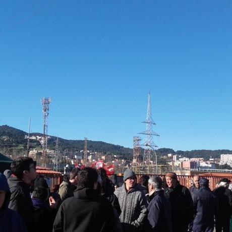 El Jovent Republicà vam assistir a la concentració dels treballadors de Cacaolat el passat diumenge 6 de febrer