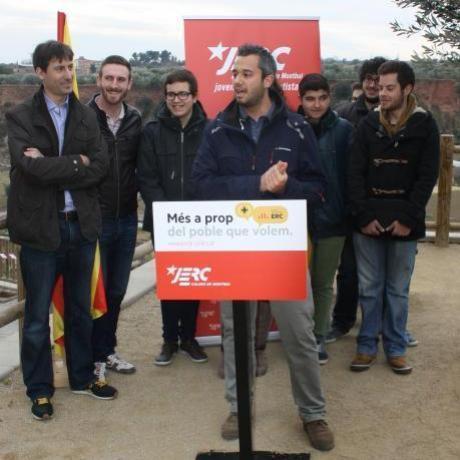 Presentació del candidat, David Través