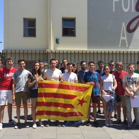 Foto de grup de les JERC Catalunya Central, al final del Congrés