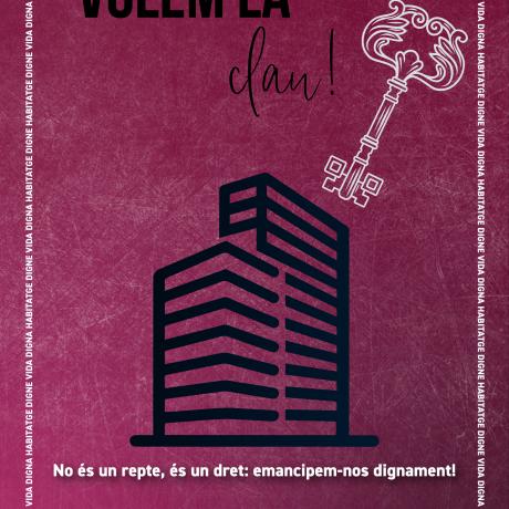 Cartell de la campanya #SOMHabitatge