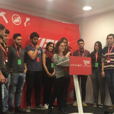 Imatge candidats i candidades al consell nacional de les JERC