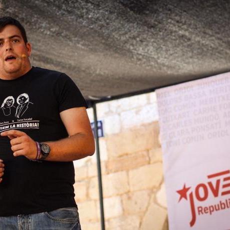 Pau Morales, portaveu del Jovent Republicà: