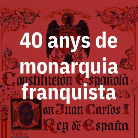 L'única sortida de la classe treballadora dels Països Catalans és una República catalana que talli d'arrel amb el règim del 78