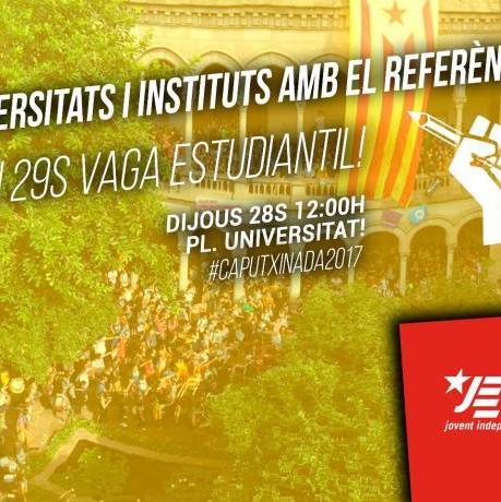 Universitats i instituts amb el referèndum