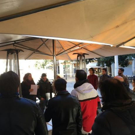 Els candidats parlen amb els veïns i veïnes de Figueres