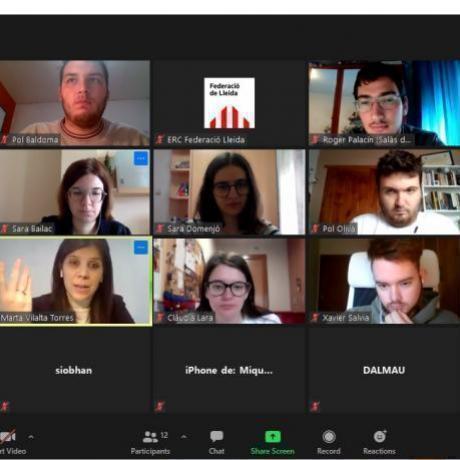 Reunió Jovent - ERC