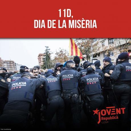 11D, dia de la misèria
